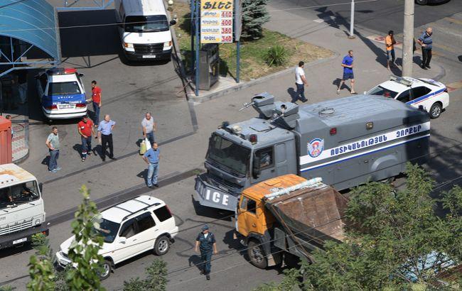 Фото: спецоперацію в Єревані завершено