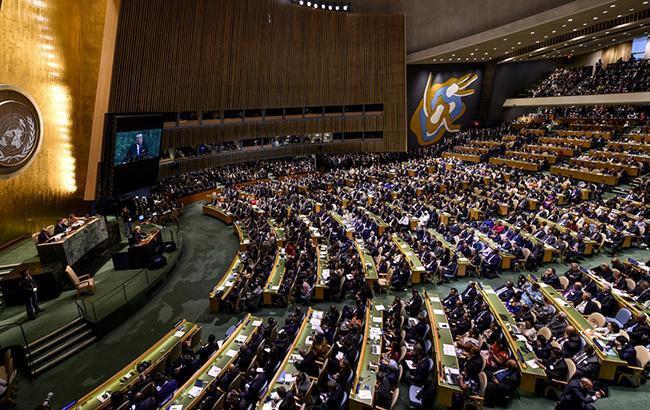 Генасамблея ООН не прийняла резолюцію Росії за договором про ракети