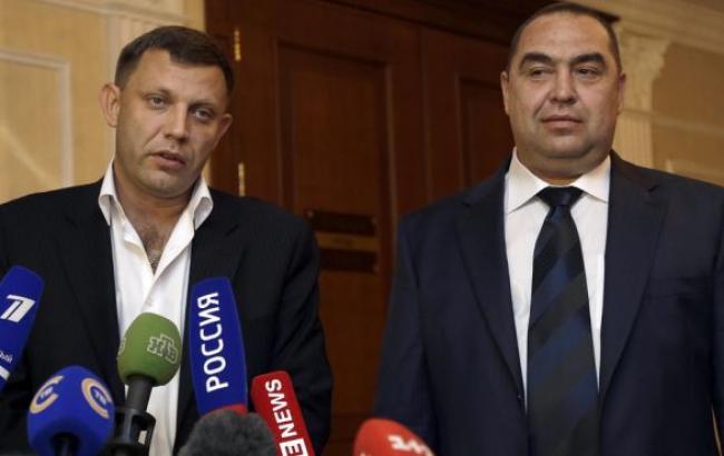 """На """"виборах"""" лідерів ДНР і ЛНР перемогли Захарченко і Плотницький"""