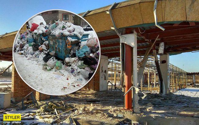 Донецьк йде на дно: фото руйнувань в окупованому регіоні