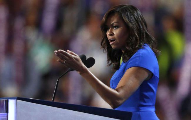 Фото: Мишель Обама эмоционально прокомментировала домогательства Трампа к женщинам
