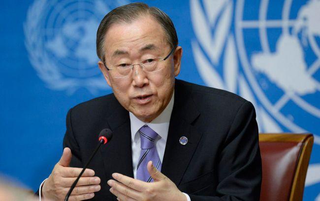 Генсек ООН засудив теракти в Парижі