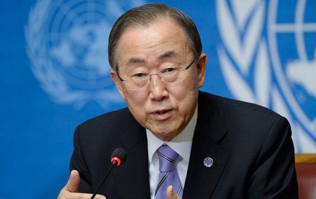 Пан Гі Мун звинуватив Росію у провалі переговорів по Сирії