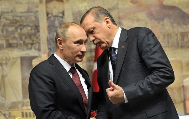 Фото: президент РФ Владимир Путин встретится с президентом Турции Реджепом Тайипом Эрдоганом
