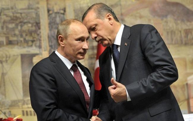 Путін таЕрдоган домовилися про скасування більшої частини економічних санкцій