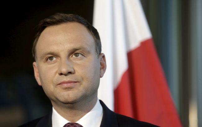 Фото: президент Польши Анджей Дуда