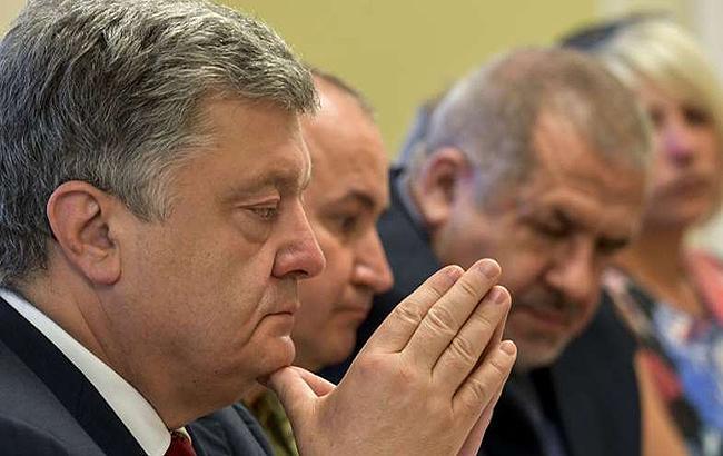 Порошенко поддерживает создание консультативного совета по освобождению политзаключенных