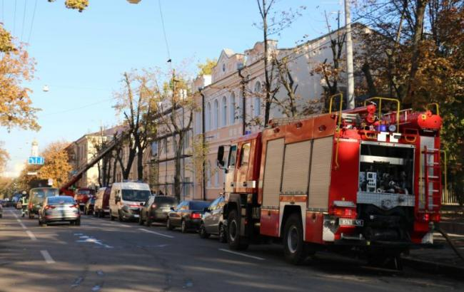 Фото: пожар в Харькове (dsns.gov.ua)
