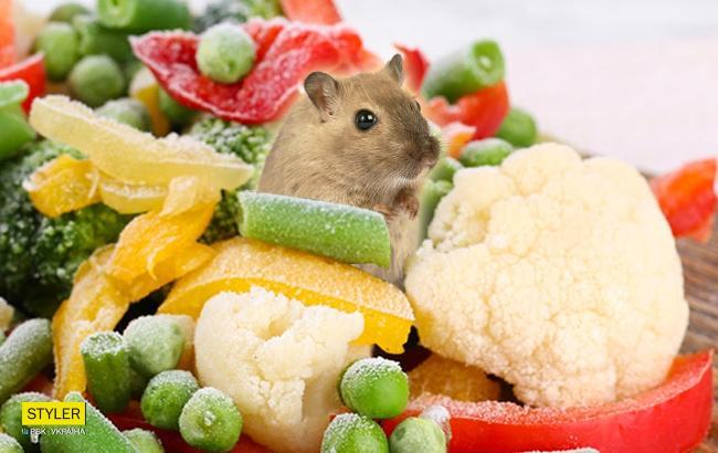 Во Львове женщина нашла в упаковке замороженных овощей из супермаркета останки животного