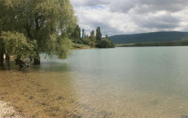 Фото: Белогорское водохранилище (ua.krymr.com)
