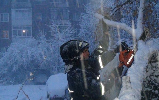 Снігопади знеструмили 430 населених пунктів у 9 областях