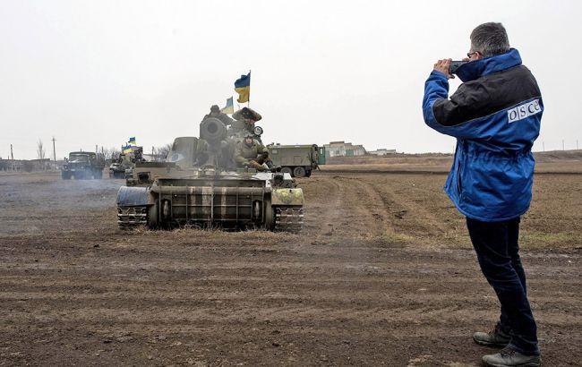 МИД заявляет, что боевики сорвали разведение, ипризывает ОБСЕ иРФ действовать