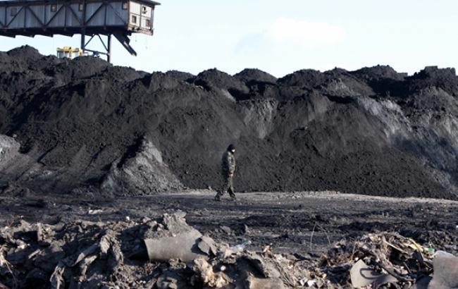 Видобуток вугілля в Україні в 2015 році скоротилася на 36,8%