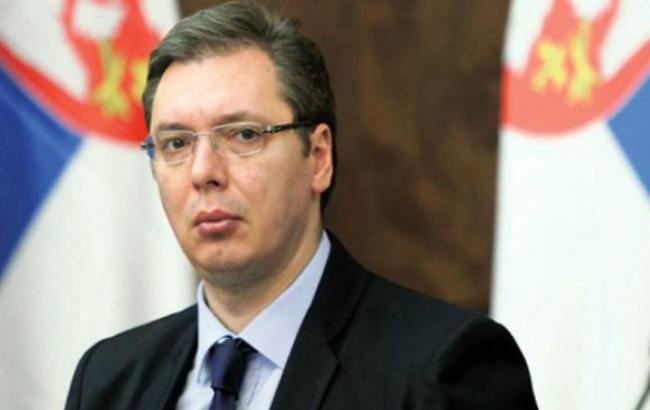 Сербія не збирається вводити санкції проти Росії