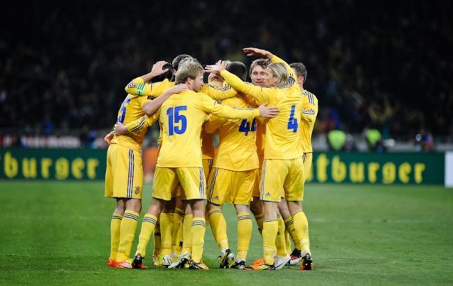 Збірна України опустилася в рейтингу ФІФА