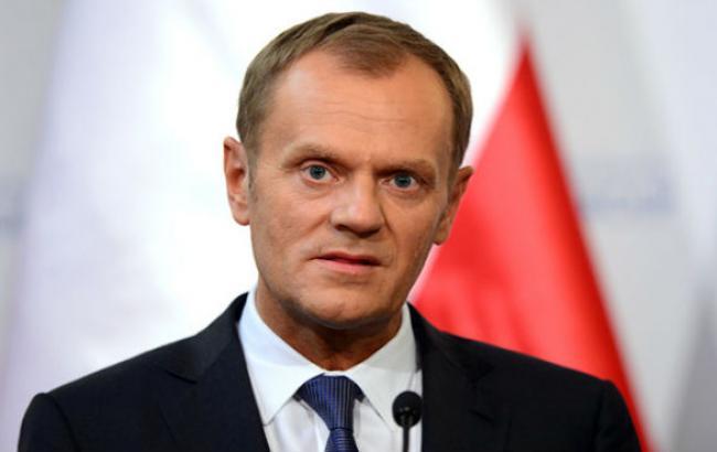 Туск опроверг информацию о предложении Путина разделить Украину