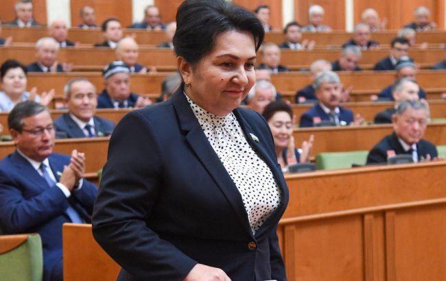 В Узбекистані жінка вперше очолила Сенат