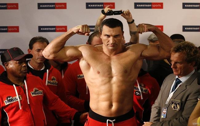 Фото: Владимир Кличко на 80 месте в топ-100 известных спортсменов