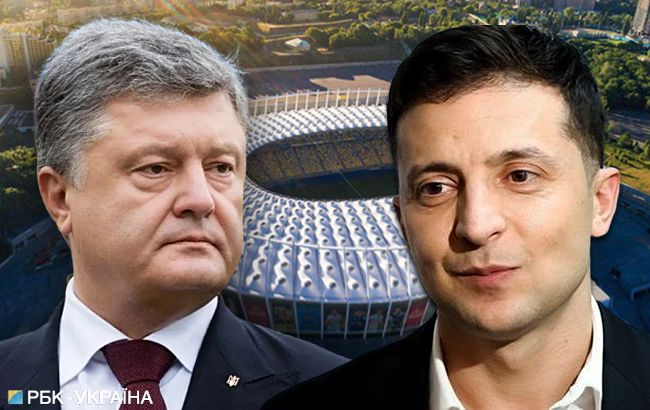 Дебати Зеленського і Порошенка: онлайн