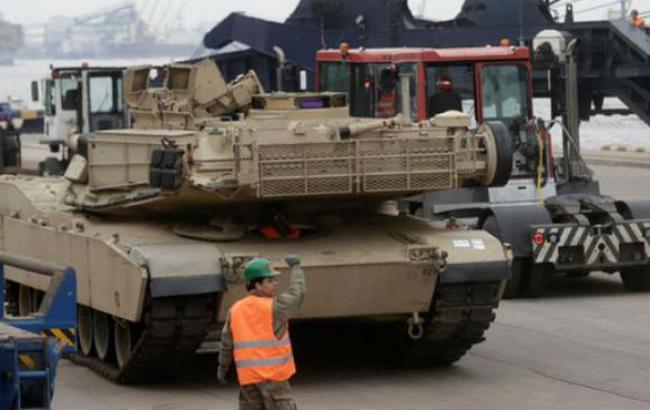 США поставили странам Балтии 120 единиц военной техники