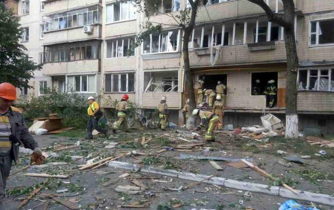 Вибух у Києві: поліція відкрила справу за фактом інциденту