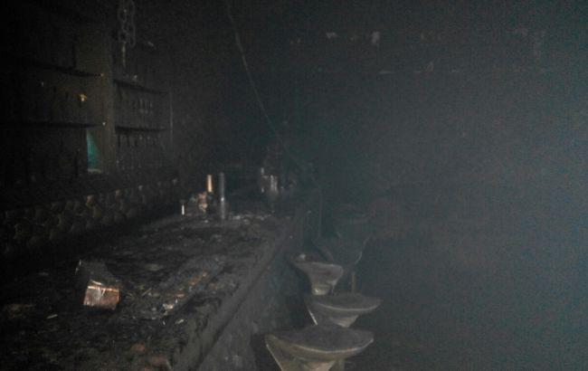 Фото: причиной пожара могла стать пиротехника