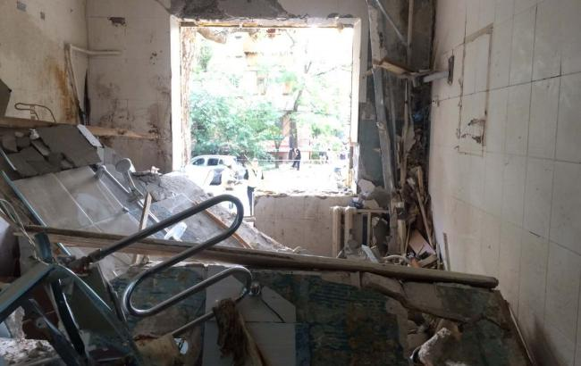 Фото: вибух у Києві (kyiv.dsns.gov.ua)