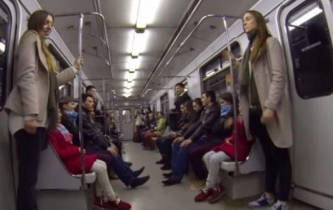 В Киеве близнецы поучаствовали в эксперименте