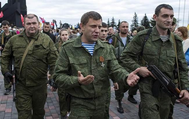 Фото: Александр Захарченко со свитой
