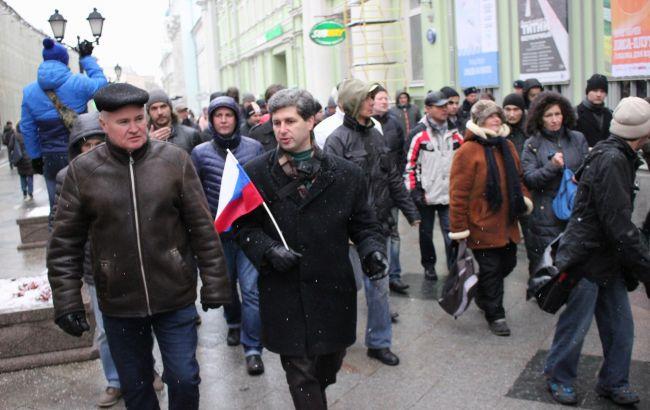В столице России задержаны участники протеста против ареста Марка Гальперина