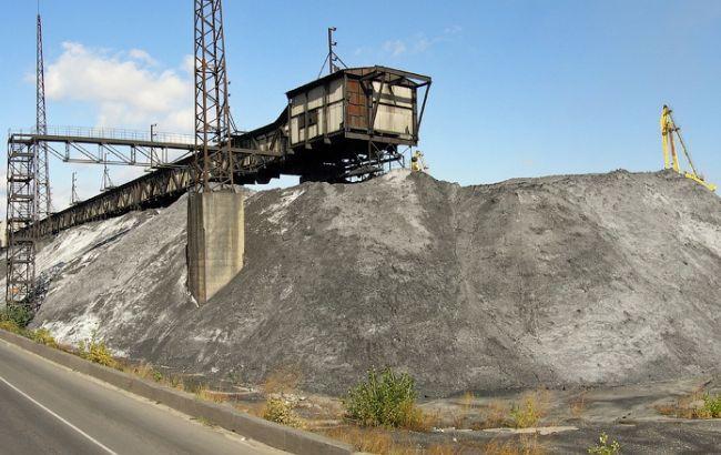 Фото: уголь на Трипольской ТЭС