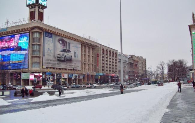 В центре Киева 18-22 февраля будет запрещено движение транспорта