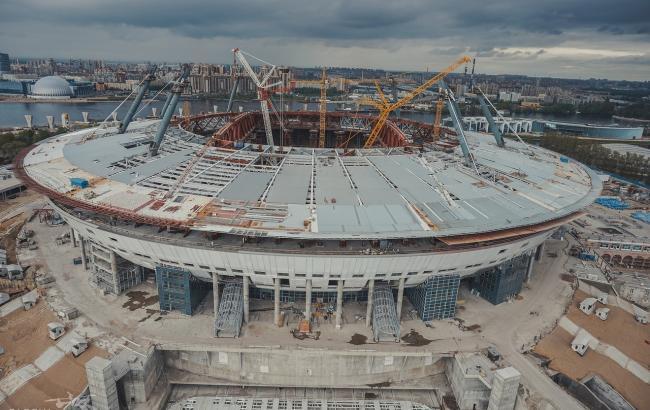 ФИФА: при строительстве «Крестовского» нарушались права человека
