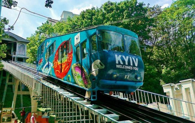 Фото: Киевский фуникулер