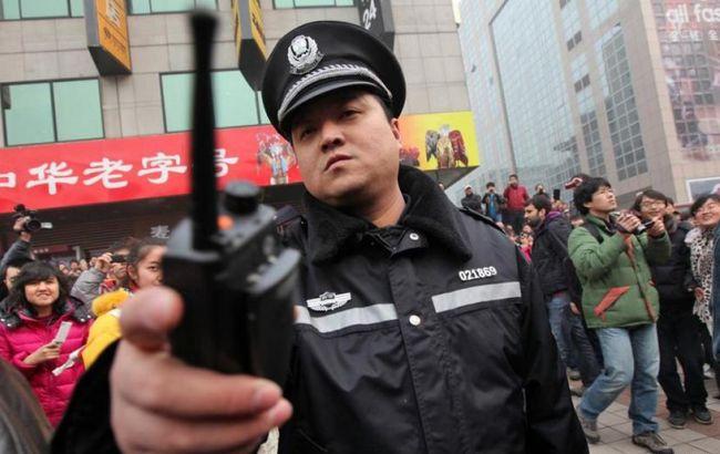 Фото: китайский полицейский