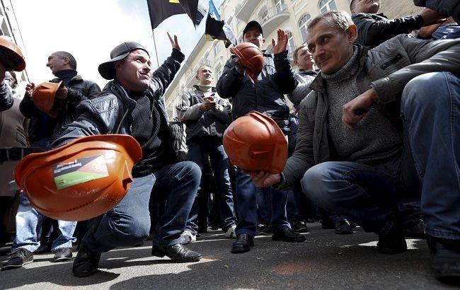 На мітингу в Києві була лише половина реальних шахтарів, - Аваков