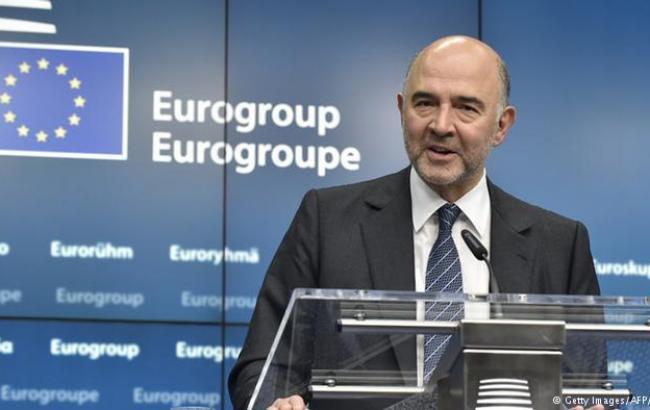 Фото: еврокомиссар по вопросам экономики Пьер Московиси