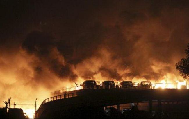 Вибух в китайському Тяньцзіні: число жертв досягло 161