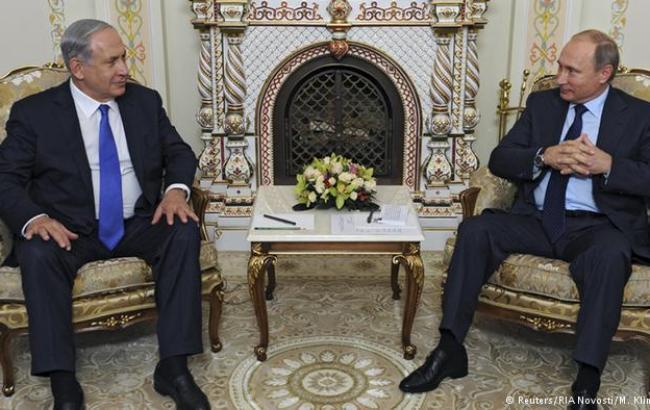 РФ та Ізраїль домовилися про координацію військових дій в Сирії