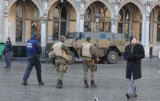 Фото: у Брюсселі через загрозу терактів скасовані новорічні заходи