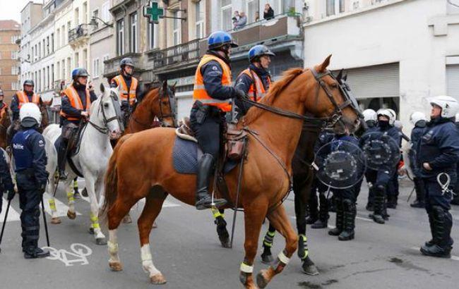 Антиисламистский митинг в Брюсселе: стычки с полицией, 100 задержанных