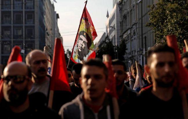 В Греции многотысячные протесты против пенсионной реформы