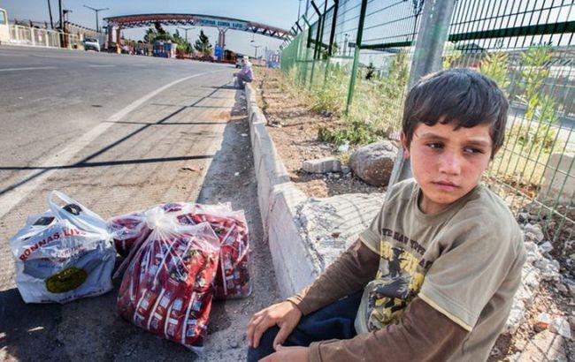 Фото: за даними ЮНІСЕФ, багатьом дітям-біженцям не вдається вижити