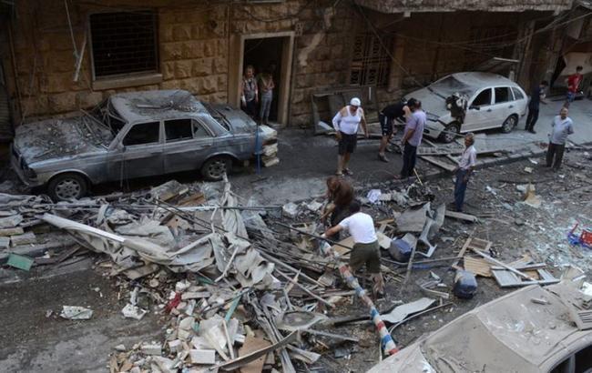 Фото: Алеппо продолжает подвергаться обстрелам и бомбардировкам