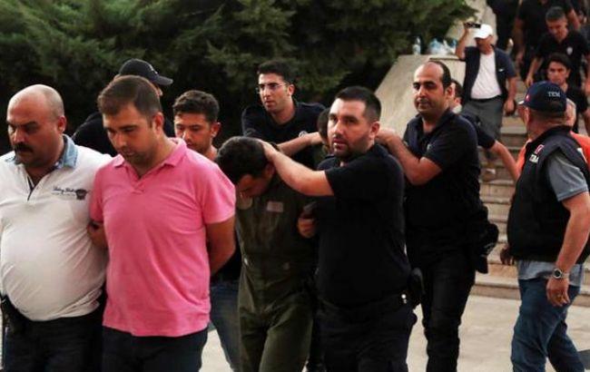 Фото: массовые задержания в Турции
