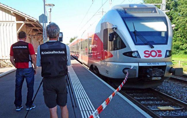 Фото: поезд, в котором произошел инцидент