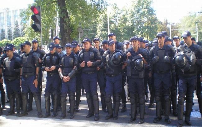 Фото: полицейские в Кишиневе