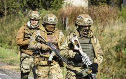 На Донбассе военные снова сбили беспилотник боевиков