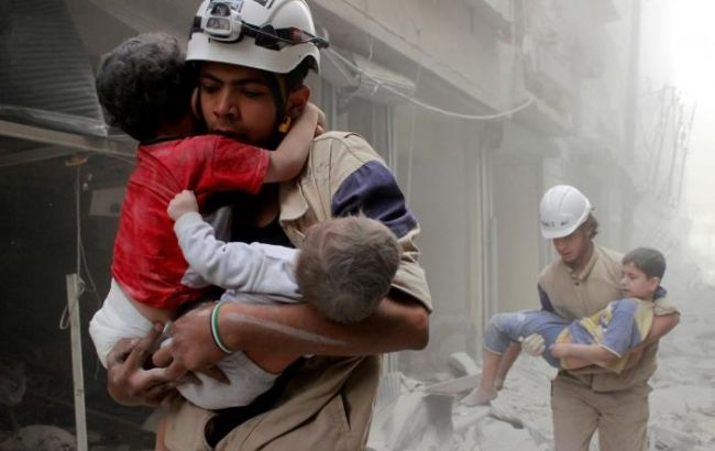Фото: помощь в Алеппо нужно доставить в течение 10 дней