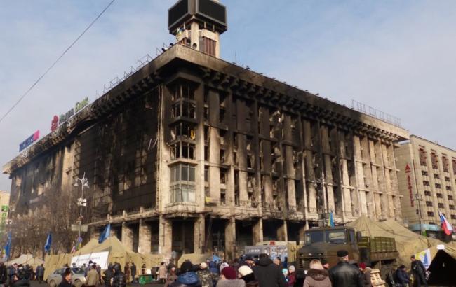Будинок профспілок у Києві відновлять протягом року